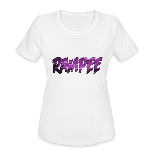 Purple Cloud Rampee - Women's Moisture Wicking Performance T-Shirt