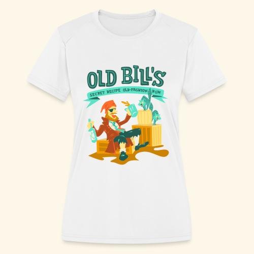 Old Bill's - Women's Moisture Wicking Performance T-Shirt