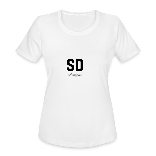 SD Designs blue, white, red/black merch - Women's Moisture Wicking Performance T-Shirt