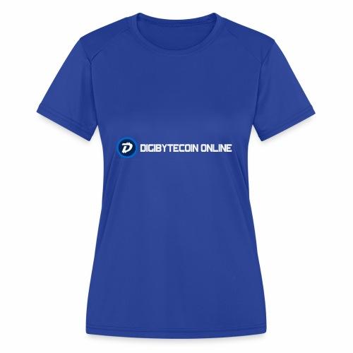 Digibyte online light - Women's Moisture Wicking Performance T-Shirt
