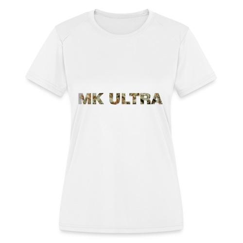 MK ULTRA.png - Women's Moisture Wicking Performance T-Shirt