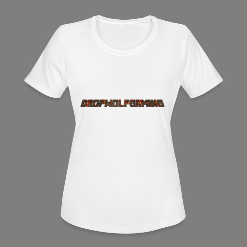 DropWolfGaming - Women's Moisture Wicking Performance T-Shirt