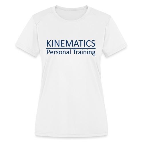 Kinematics Personal Training - Women's Moisture Wicking Performance T-Shirt