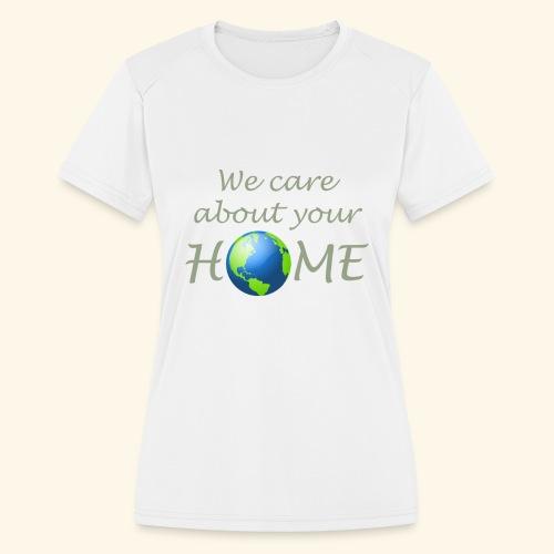 Happy Earth day - Women's Moisture Wicking Performance T-Shirt