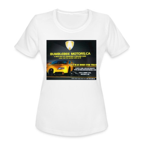 BUMBLEBEE MOTORS - Women's Moisture Wicking Performance T-Shirt