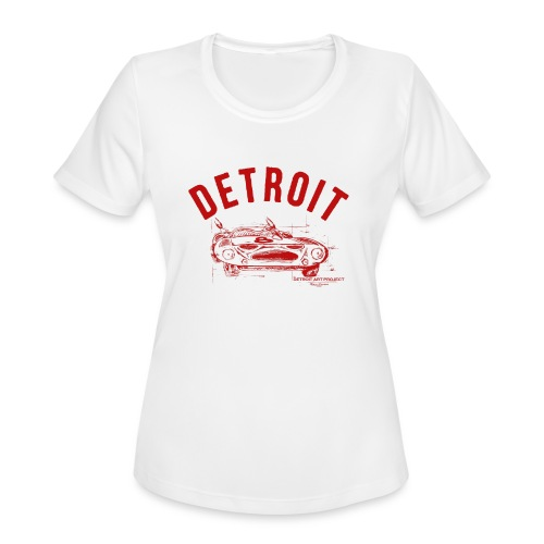 Detroit Art Project - Women's Moisture Wicking Performance T-Shirt