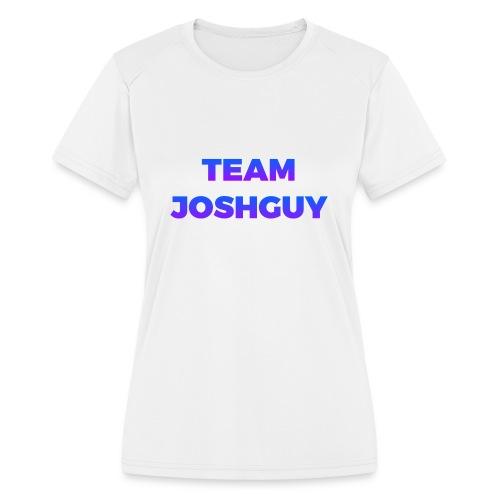 Team JoshGuy - Women's Moisture Wicking Performance T-Shirt