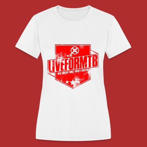Live 4 mtb - Women's Moisture Wicking Performance T-Shirt