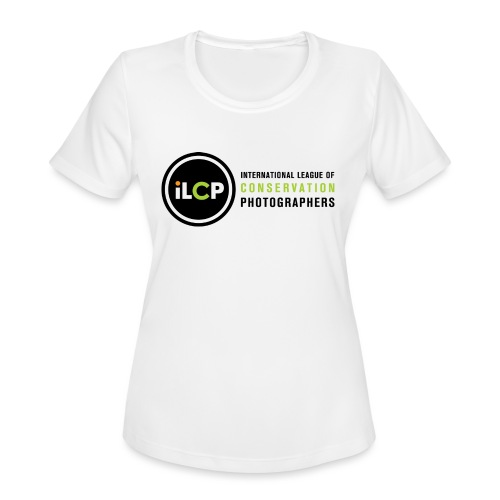 iLCP logo horizontal RGB png - Women's Moisture Wicking Performance T-Shirt