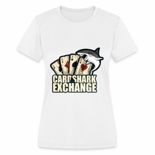 Card Shark 1 - Women's Moisture Wicking Performance T-Shirt