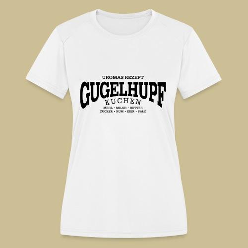 Gugelhupf (black) - Women's Moisture Wicking Performance T-Shirt