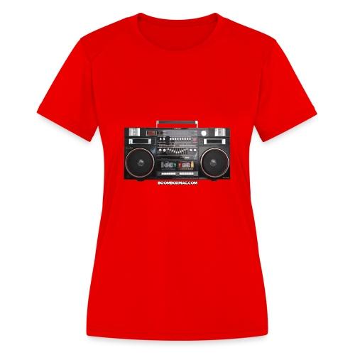 Helix HX 4700 Boombox Magazine T-Shirt - Women's Moisture Wicking Performance T-Shirt