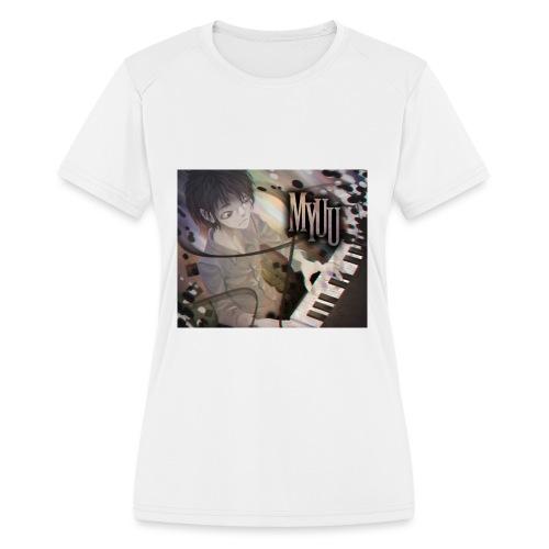 Dark Piano 1 - Women's Moisture Wicking Performance T-Shirt
