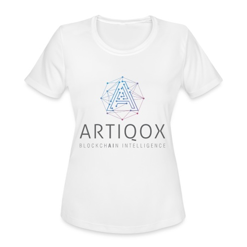 ARTIQOX LOGO - Women's Moisture Wicking Performance T-Shirt