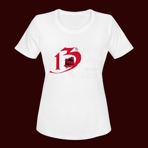 The 13th Doll Logo - Women's Moisture Wicking Performance T-Shirt