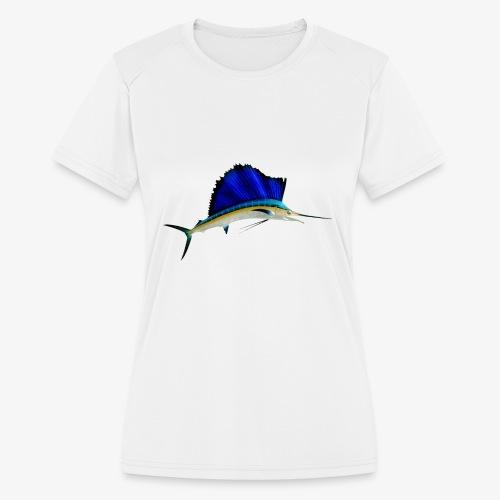 SAILFISH-01 - Women's Moisture Wicking Performance T-Shirt