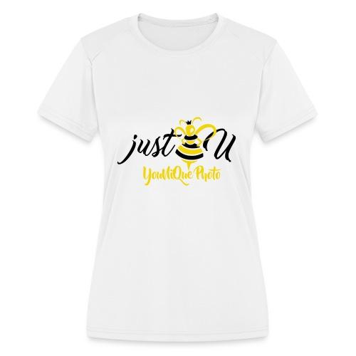 BeeYourSelf - Women's Moisture Wicking Performance T-Shirt