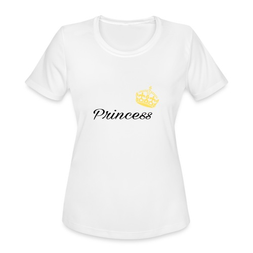 Princess - Women's Moisture Wicking Performance T-Shirt