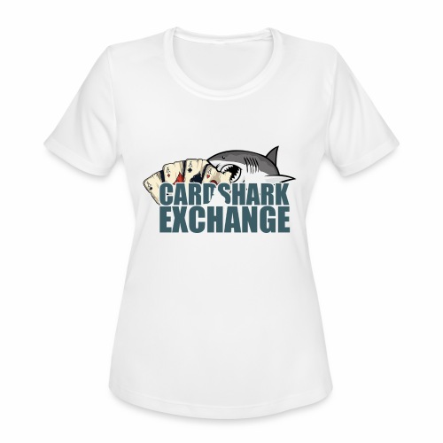 Card Shark 2 - Women's Moisture Wicking Performance T-Shirt