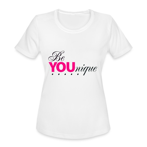 Be Unique Be You Just Be You - Women's Moisture Wicking Performance T-Shirt