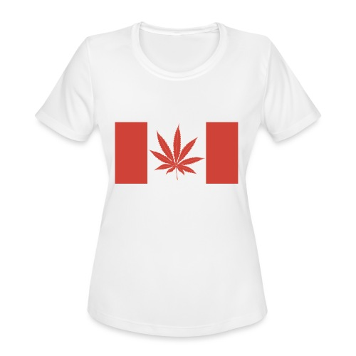 Canada 420 - Women's Moisture Wicking Performance T-Shirt