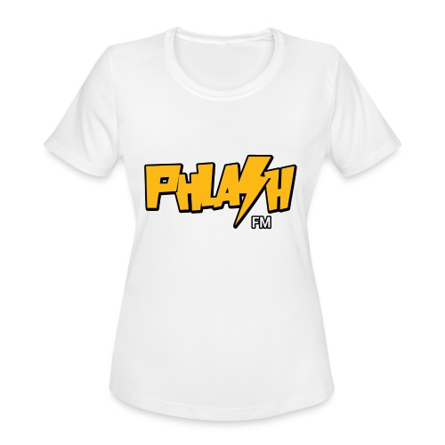 PHLASH fm - Women's Moisture Wicking Performance T-Shirt