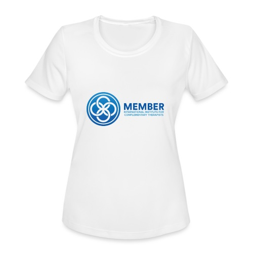 IICT Member Logo - Women's Moisture Wicking Performance T-Shirt