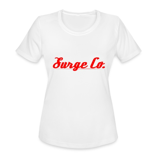 Surge Co. - Women's Moisture Wicking Performance T-Shirt