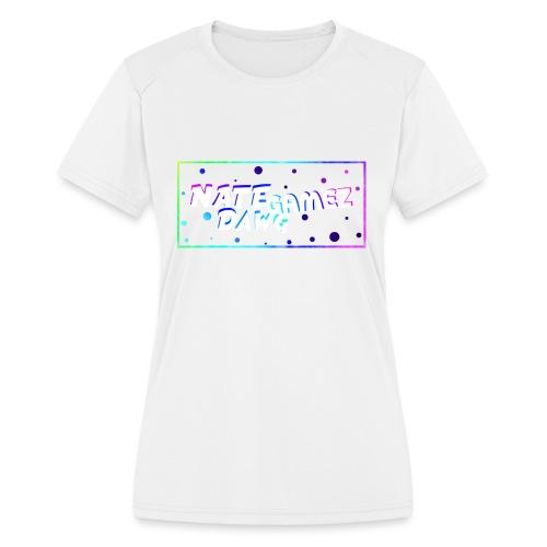 NateDawg Gamez Merch - Women's Moisture Wicking Performance T-Shirt