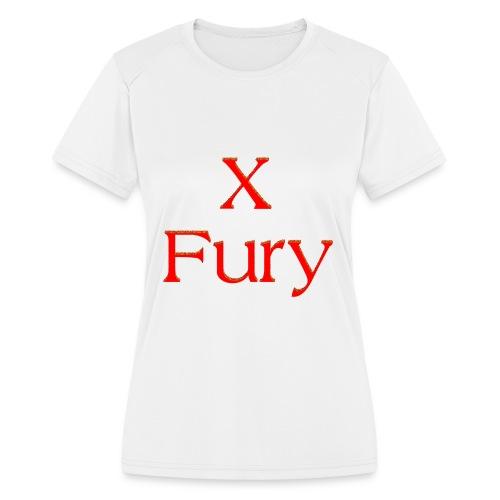X Fury - Women's Moisture Wicking Performance T-Shirt