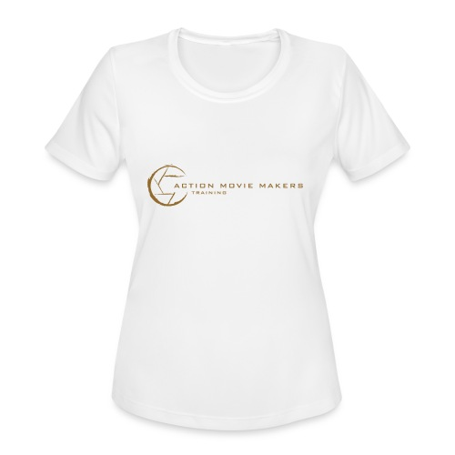 AMMT Logo Modern Look - Women's Moisture Wicking Performance T-Shirt