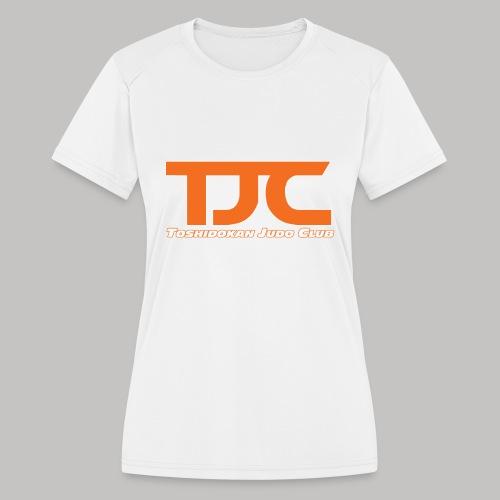 TJCorangeBASIC - Women's Moisture Wicking Performance T-Shirt