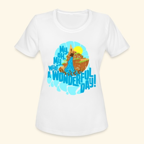 splashMT2 - Women's Moisture Wicking Performance T-Shirt
