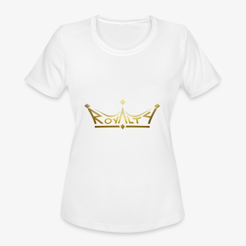 royalty premium - Women's Moisture Wicking Performance T-Shirt