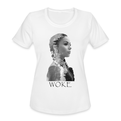 Nikita WOKE Black - Women's Moisture Wicking Performance T-Shirt