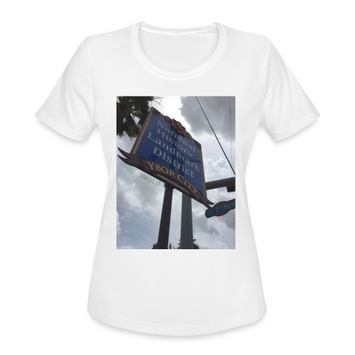 Ybor City NHLD - Women's Moisture Wicking Performance T-Shirt