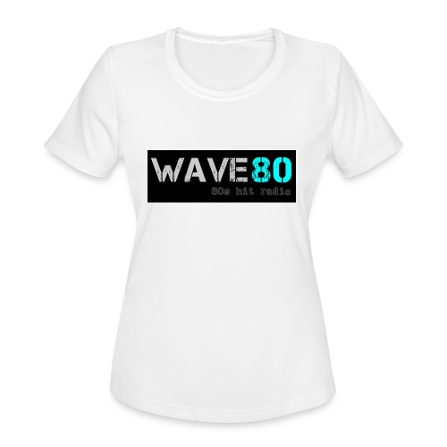 Main Logo - Women's Moisture Wicking Performance T-Shirt