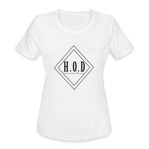 HOD LOGO - Women's Moisture Wicking Performance T-Shirt
