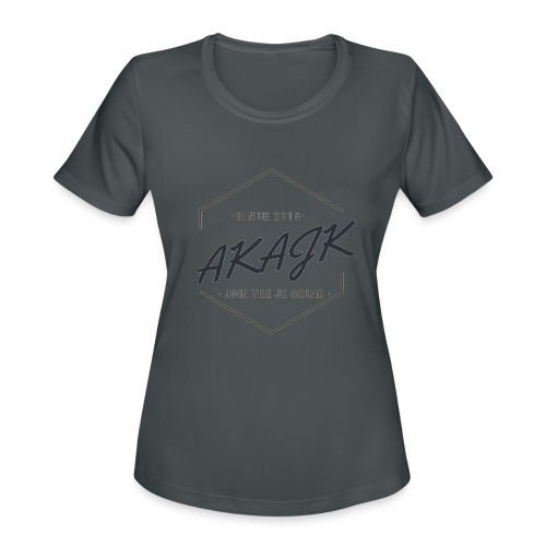 the geometric JK Squad - Women's Moisture Wicking Performance T-Shirt