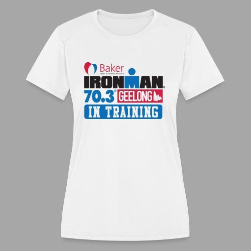 70.3 Geelong - Women's Moisture Wicking Performance T-Shirt