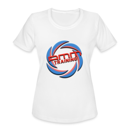 AMMT LOGO WEB - Women's Moisture Wicking Performance T-Shirt