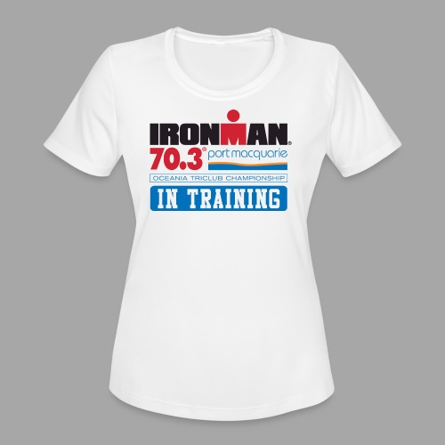 70.3 Port Macquarie - Women's Moisture Wicking Performance T-Shirt