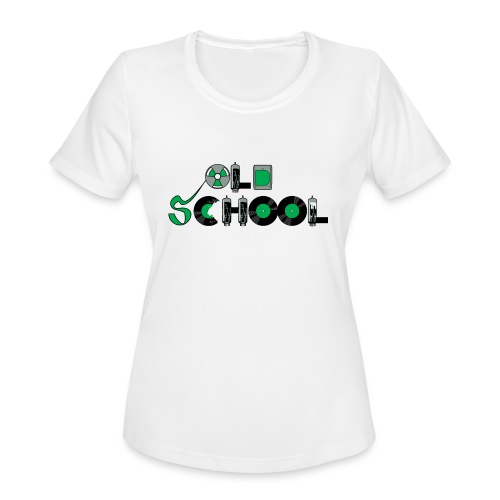 Old School Music - Women's Moisture Wicking Performance T-Shirt