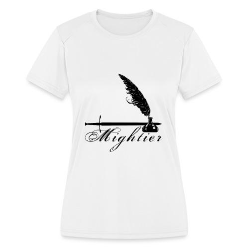 mightier - Women's Moisture Wicking Performance T-Shirt