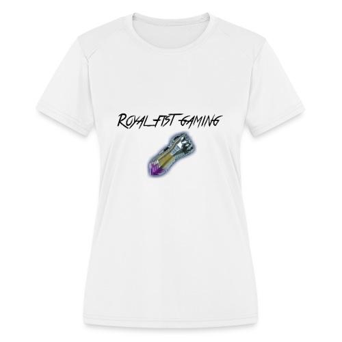 Royal Fist Gaming - Women's Moisture Wicking Performance T-Shirt