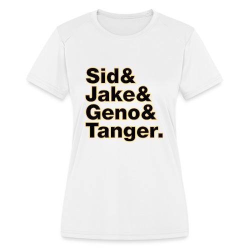 Helvetica& Hockey 2021 - Women's Moisture Wicking Performance T-Shirt