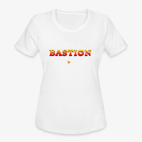 Virtual Bastion: For the Love of Gaming - Women's Moisture Wicking Performance T-Shirt
