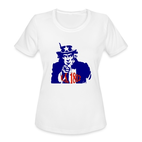 uncle-sam-1812 - Women's Moisture Wicking Performance T-Shirt