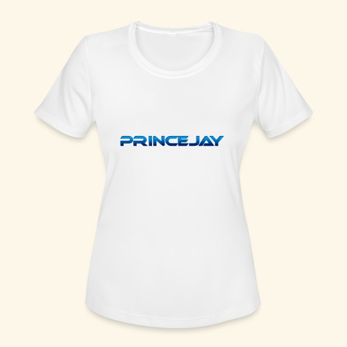 PrinceJay Logo - Women's Moisture Wicking Performance T-Shirt