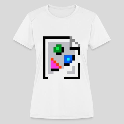 Broken Graphic / Missing image icon Mug - Women's Moisture Wicking Performance T-Shirt